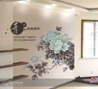 郑州墙绘郑州手绘墙青云墙绘作品 家居设计图库 效果图,实景图,