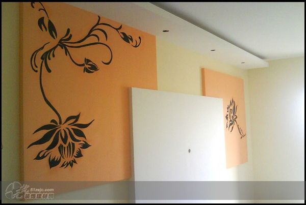 手绘墙 作品 家居设计图库 效果图,实景图,样板间,建筑设计